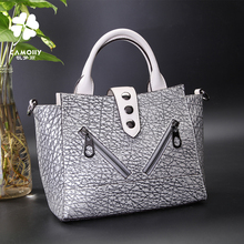 New arrival real leather womens handbag lady bag order from china direct