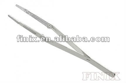 "5"" Disposable Zinc Alloy Precise Tip Dressing forceps"