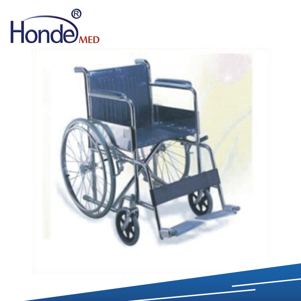Rehabilitation Therapy Supplier manual wheelchair with high back