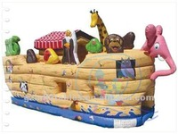 2012 {Qi Ling} Noah's Ark commercial bounce house,bounce house
