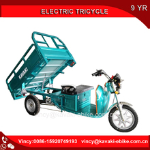 Customized KAVAKI Brand 1200W Motor Electric Tricycle Loading Cargo Three Wheel Vehicle