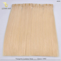 YBY 2016 100% Remy Double Drawn Full Cuticle Best Quality guangzhou remy hair market