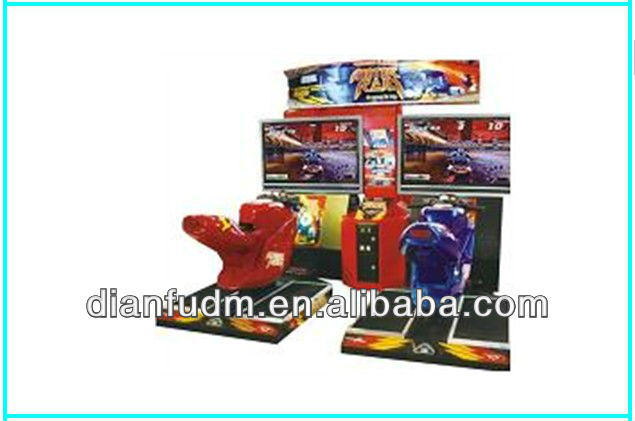 2013 Very cheap DF-R 011 Coin operated driving car game machine with 42''LCD Screen - Race motor