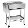 Assembled BBQ Charcoal Grills - Stainless steel BN-W27