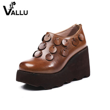 alibaba suppliers genuine leather women's dress high heel shoes laides platform pumps