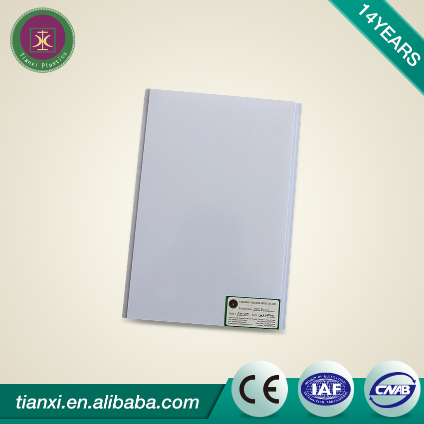 PVC gypsum board suspended ceiling panels /plastic panel ceiling