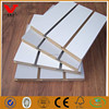 White facing simple design melamine MDF slot board for sale