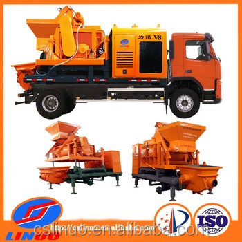 hot sale cslinuo V8 high capacity 25m3/h truck mounted concrete pump truck hydraulic press machine
