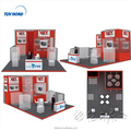 Detian Offer 20x30 modular exhibition systems exhibition booth design company