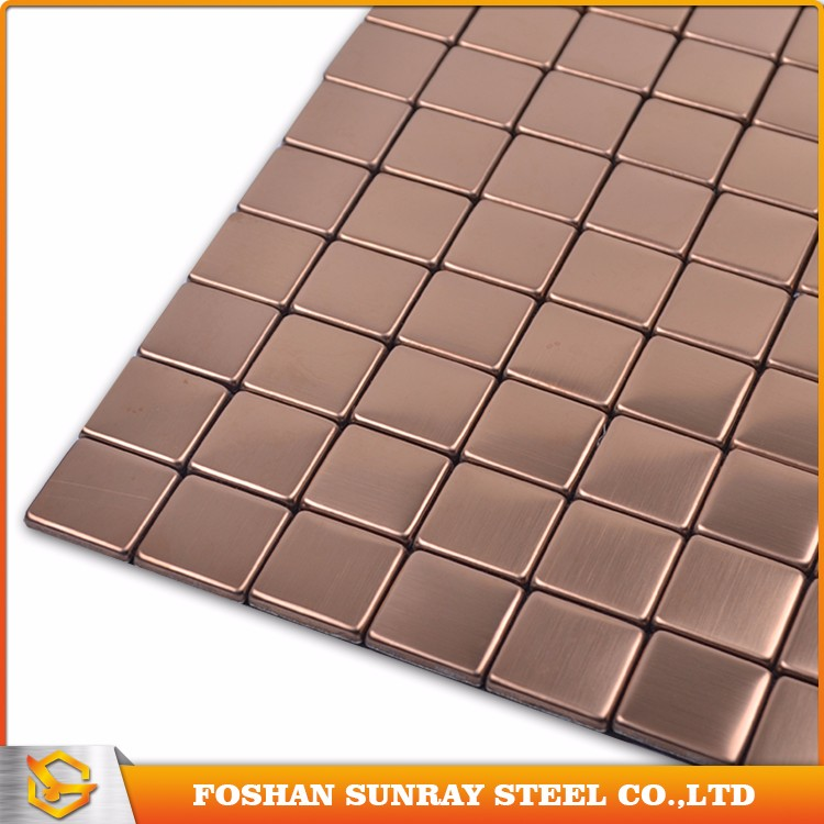 Stainless steel mosaic tile price