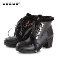 lace-up thigh high winter boots fashion 2013 for women