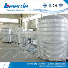 High quality and trustable purified water production line