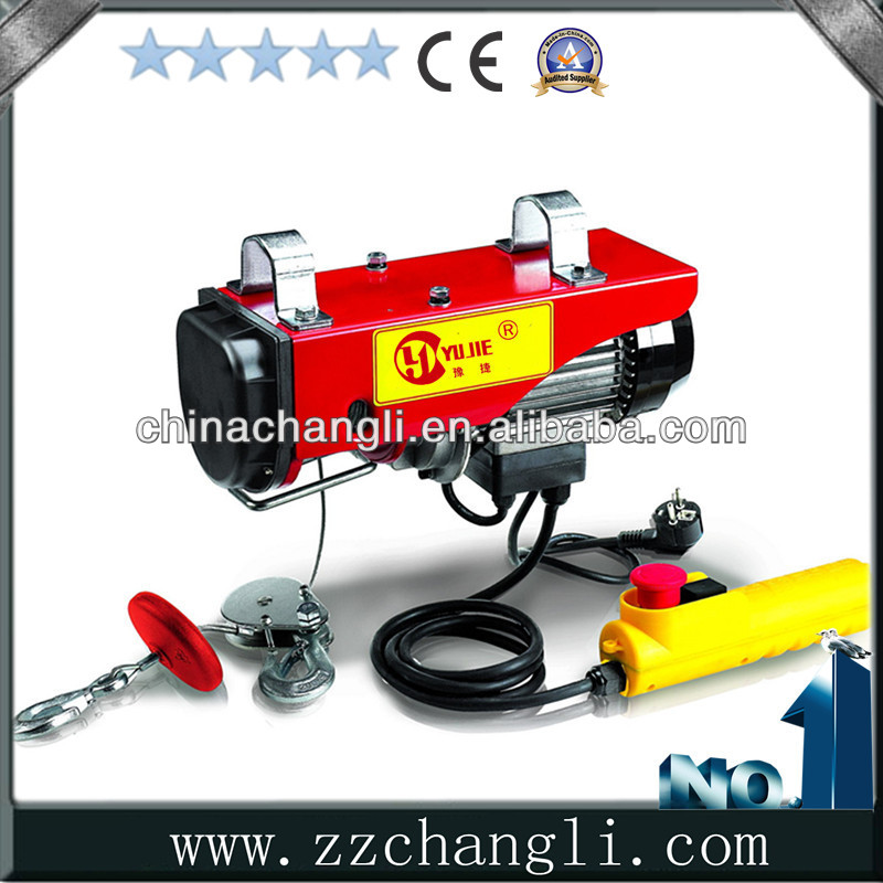 wire rope small electric chain hoist