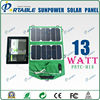 13w Sunpower Solar Cells High Efficiency Solar Bag Pack for outdoors
