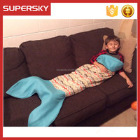 V-549 Customizable Mermaid tails and shark tails flannel fleece blanket christmas fleece mermaid tail blanket