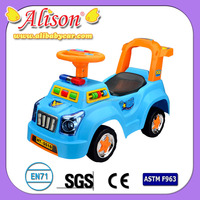 factory offer car Alison C31039 children cartoon car plastic kids cheap rc ride in cars for sale