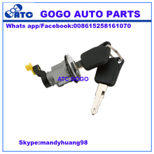 GOGO Auto parts auto trunk LID door key Lock Cylinder W/KEY for peugeot 405 94' 872672