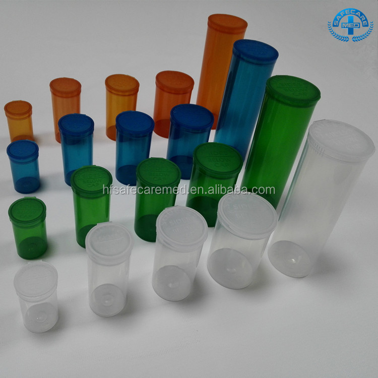 Medical Pop Top Vials Cheap Plastic Containers