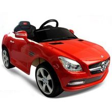 Hot red kids ride on remote control power car/kids ride on car