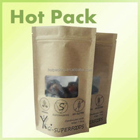 biodegradable plastic carry bags / standing pouch