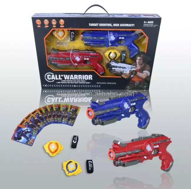 New Products Infrared Battle Gun Toys Set VS UFO