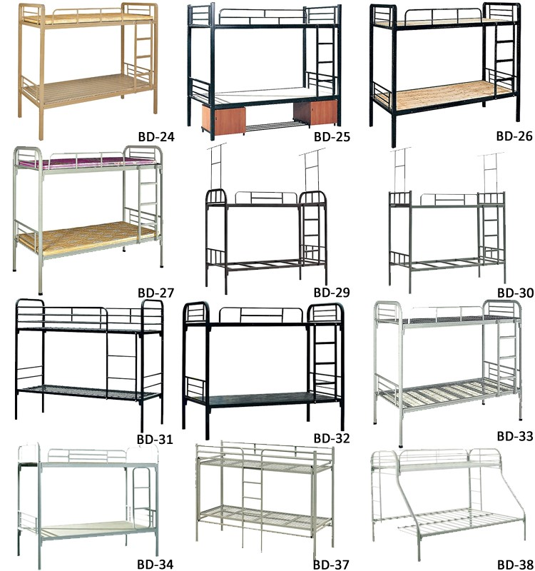 School Double Metal Bunk Bed For Sale