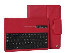 For Apple iPad Air Wireless Removable Bluetooth Keyboard & Leather Case -IP051