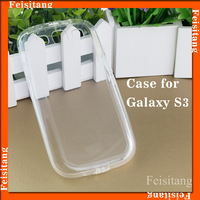 Transparent TPU case cover For Samsung galaxy s3 Mobile phone accessories