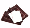 portable leather cleaner wipes for shoes upper with 2pcs packing