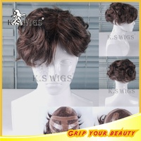 New Arrival Easeful Invisable Full Lace Toupee With Remy hair Men Wig