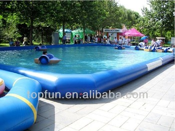 Above Ground Inflatable Water Play Pool