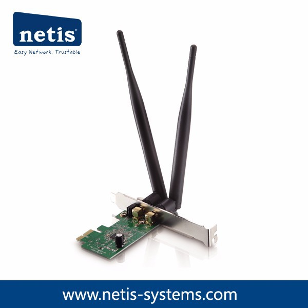 300Mbps Wireless N PCI-E Adapter, Detachable Antennas