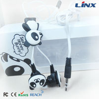 Panda earphone jack dust plug LX-P11
