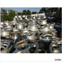Pure 99.9% Aluminum Scrap 6063 / Alloy Wheels scrap / Baled UBC aluminum scrap ,can