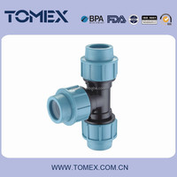 PN 16 pp compression fittings for Water supply and Angricultral system