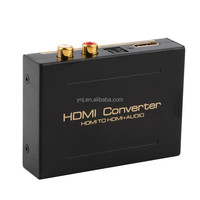 1080P HDMI to HDMI Optical + SPDIF + RCA L/R Audio Extractor Converter