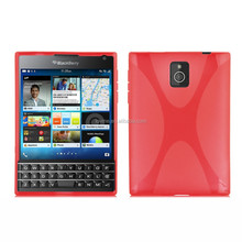 Hot Selling X-line Soft TPU Case Cover for BlackBerry Passport Q30