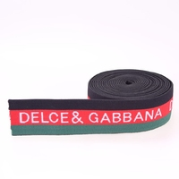 Top grade best selling shiny jacquard elastic band