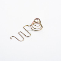 OEM stainless spring clip battery AA contact clip
