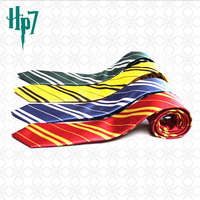 Fashion Harry Potter Polyester Striped School Ties Wholesale