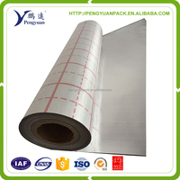 colorful aluminum foil coated fiberglass cloth