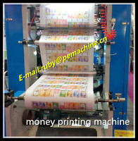 Doctor Blade Toy Money printing machine