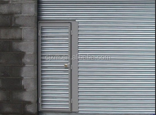 Colorful and Strong InsulatedRolling Shutter Doors Storage Container House