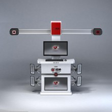 automatic target tracking computer wheel alignment system machine