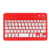 China hot sale Slim Portable Wireless Bluetooth Keyboard BCM20730 keyboard chip 59keys ABS keyboard for Apple Ipad Mini