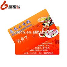 Colorful PVC Blister Card