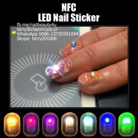 Sticky Nfc nail art sticker decails for nail art decoration