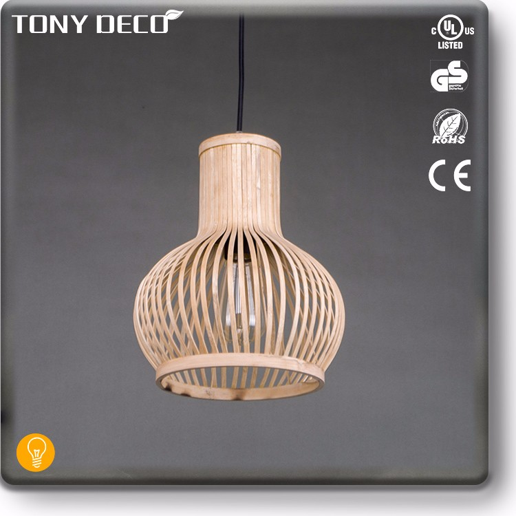 BAA65650 New Design Natural Weave Antique Bamboo Lamp