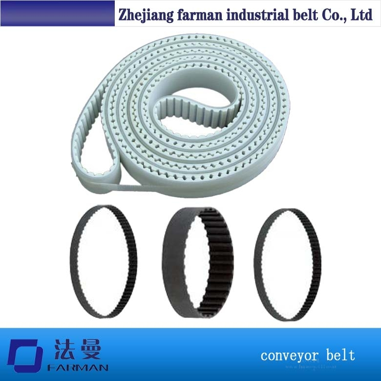 Automotive Timing Belt Cr/ Hnbr Rubber Material High Quality