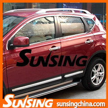 Chrome trim auto sopilers Qashqai accessories Qashqai body kit